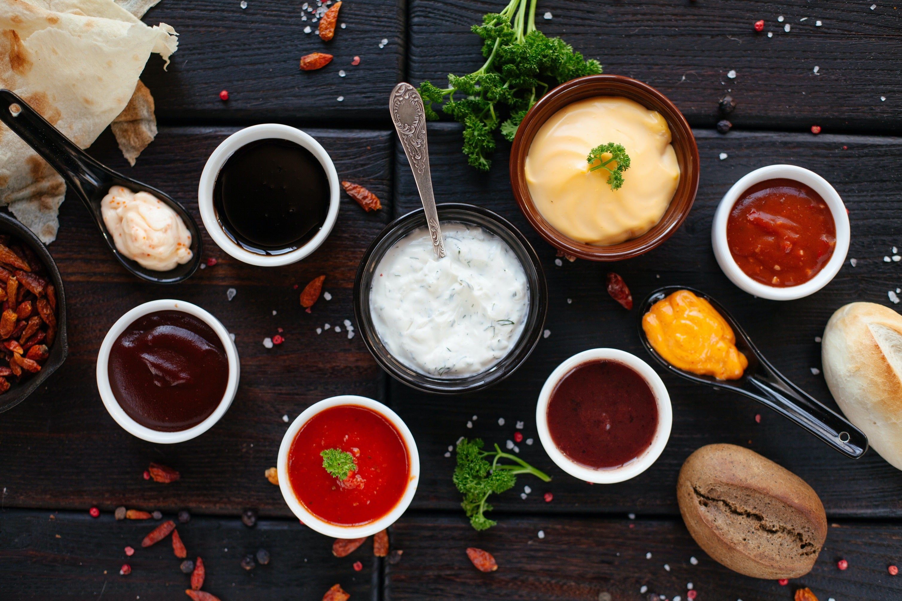 Homemade sauces